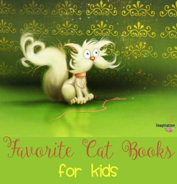 favorite cat books for kids (picture books and chapter books)