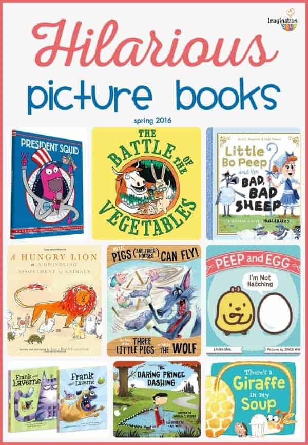 hilarious picture books