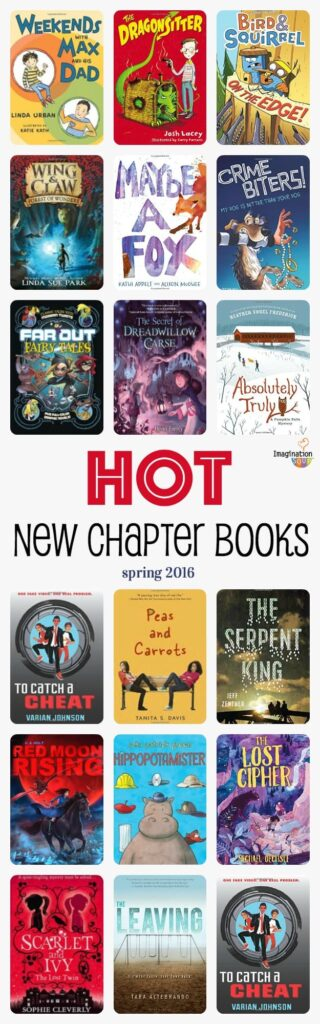 hot new chapter books for kids -- that they'll love!!