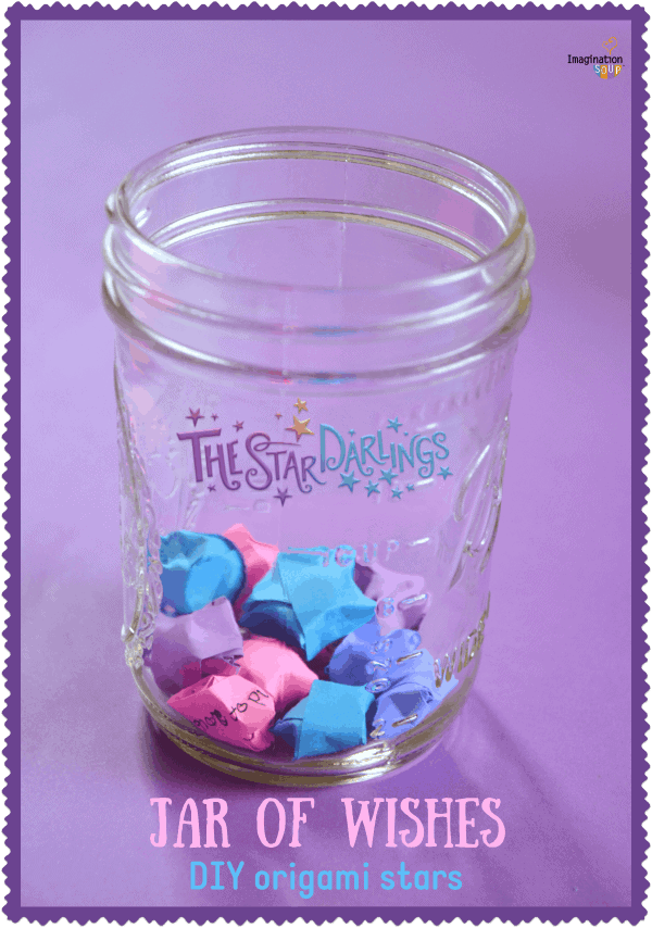 Make a Wish Jar! DIY Origami Stars Inspired by Star Darlings