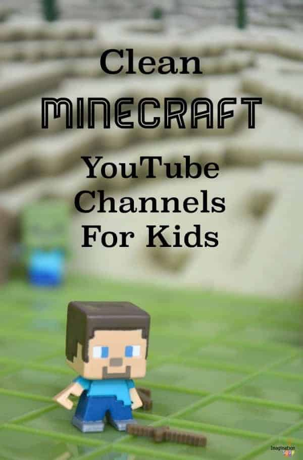 kid friendly Minecraft YouTube videos and channels for kids