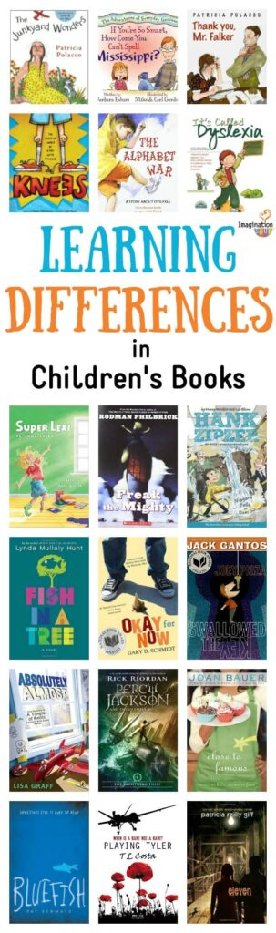 learning differences disabilities in children's books