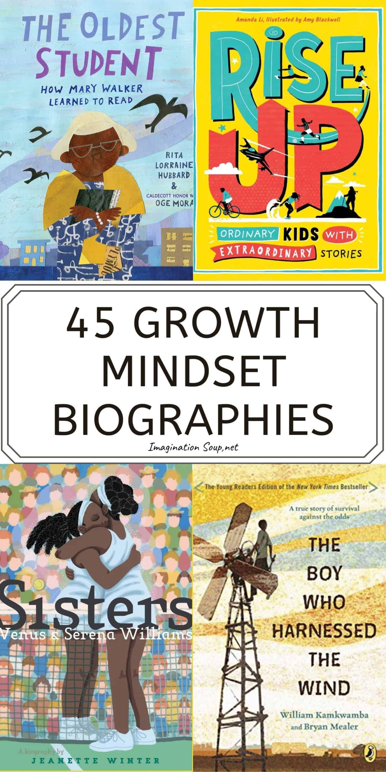 45 growth mindset biographies for kids