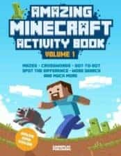 Amazing Minecraft Activity Book Vol 1 Terrific Travel and Activity Books for Kids