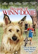 Because of Winn Dixie movie Books Made Into Movies For Kids Ages 4 - 8