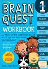 Brain Quest 1 Terrific Travel and Activity Books for Kids