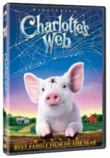 Charlotte's Web movie Books Made Into Movies For Kids Ages 4 - 8