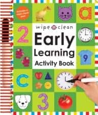 early learning activity book terrific travel and activity books for kids - Activity Books For 4 Year Olds