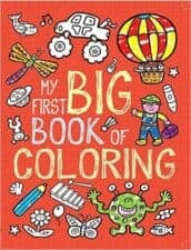 First Big Book of Coloring Terrific Travel and Activity Books for Kids