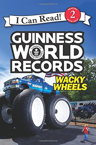 Guinness World Records Wacky Wheels I Can Read 2 Children's Books About Trucks