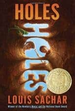 Holes by Louis Sachar Books Made Into Movies For Kids Ages 8 - 12