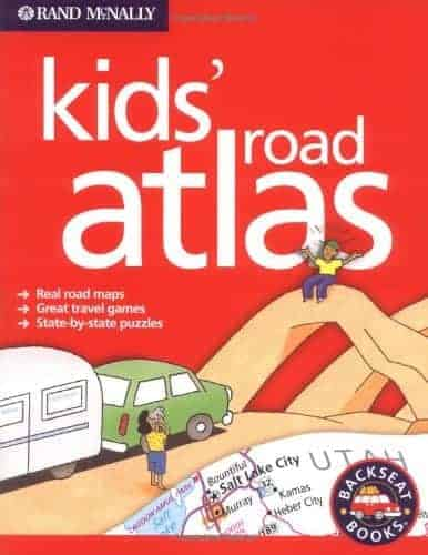 Kids' Road Atlas Terrific Travel and Activity Books for Kids