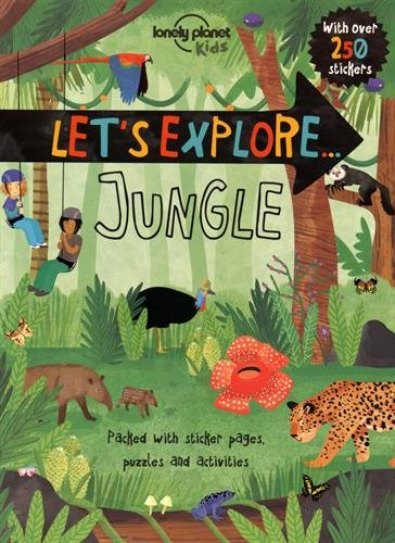 Let's Explore Jungle Terrific Travel and Activity Books for Kids