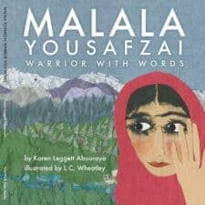 Malala Yousafzai- Warrior with Words best nonfiction books for elementary age kids