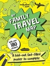 My Family Travel Map Terrific Travel and Activity Books for Kids