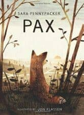 Pax realistic chapter books about friendship