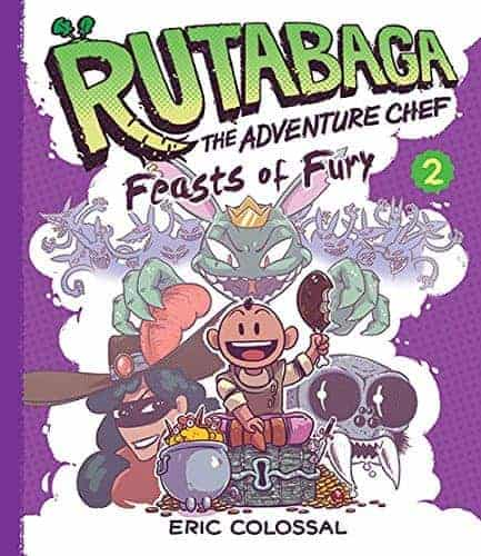 Rutabaga Feasts of Fury New and Engaging Graphic Novels
