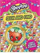 Shopkins SEek and Find Terrific Travel and Activity Books for Kids