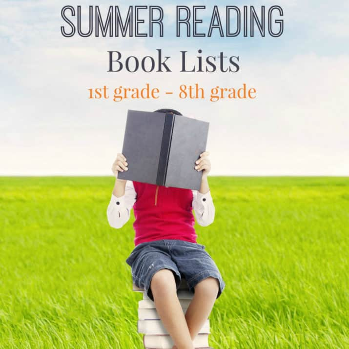 Summer Reading Book Lists for Kids