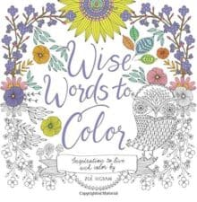 Wise Words to Color Terrific Travel and Activity Books for Kids