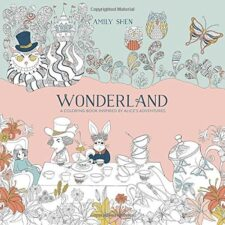 Wonderland Coloring Book Terrific Travel and Activity Books for Kids