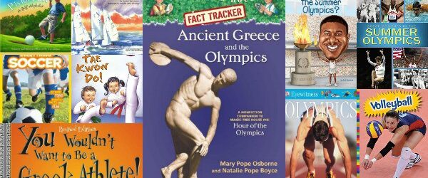 Get Kids Excited About the Summer Olympics with Books!