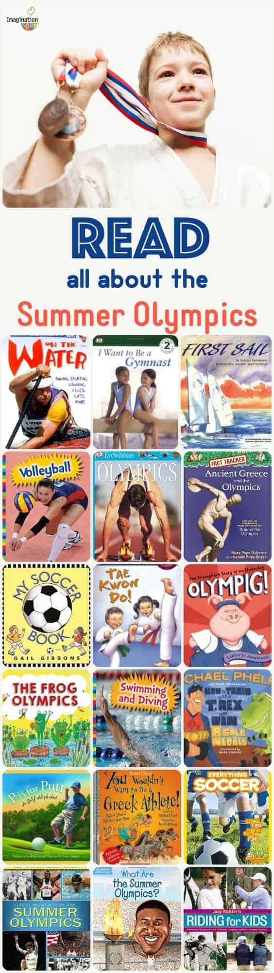 children's books about the summer Olympics