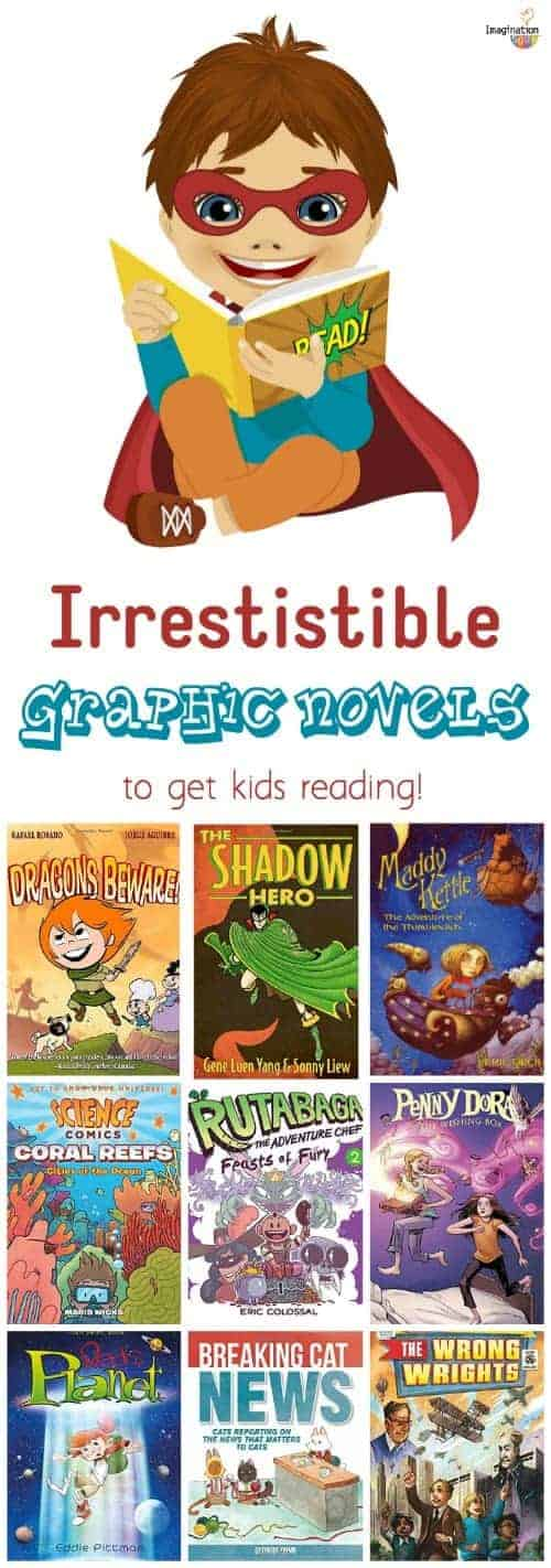 engaging new graphic novels to get kids reading