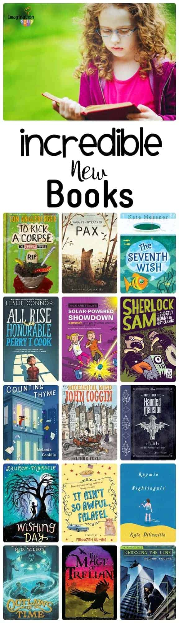 excellent new books to get kids reading over the summer (2016)