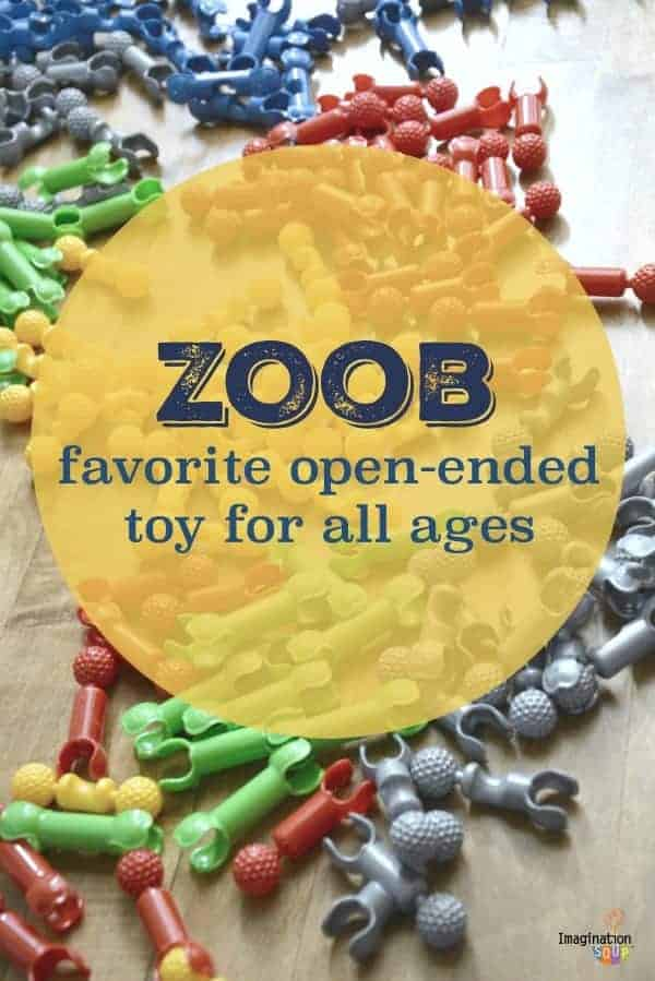 favorite open ended toy for all ages -- ZOOB