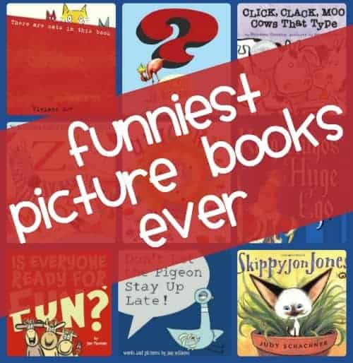 funniest picture books for kids (EVER)