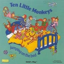 10 little monkeys The Biggest List of the Best Math Picture Books EVER