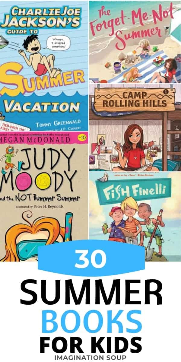 30 chapter books for kids about summer vacation