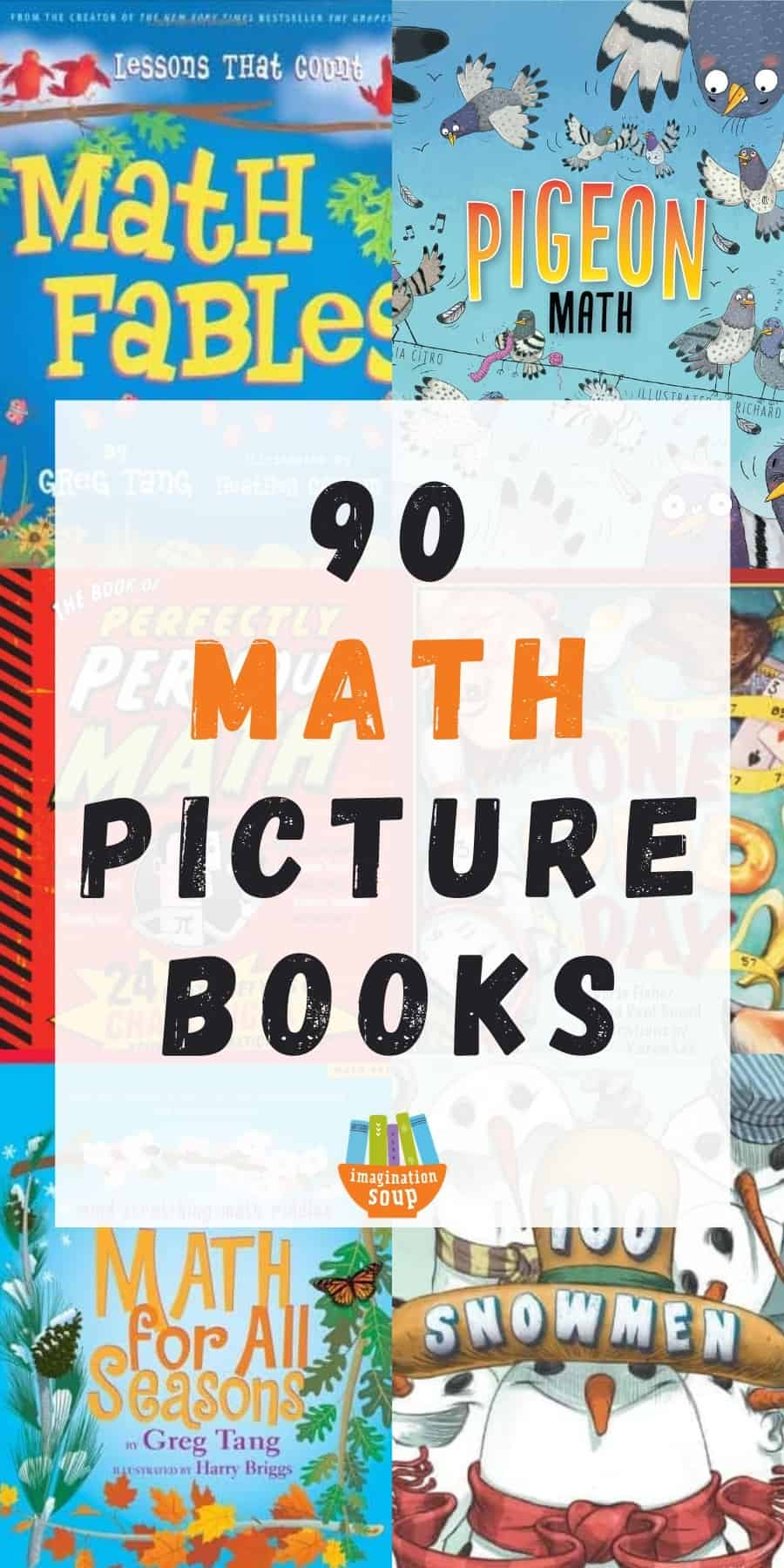 90 math picture books for kids