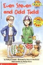 Even Steven and Odd Todd The Biggest List of the Best Math Picture Books EVER