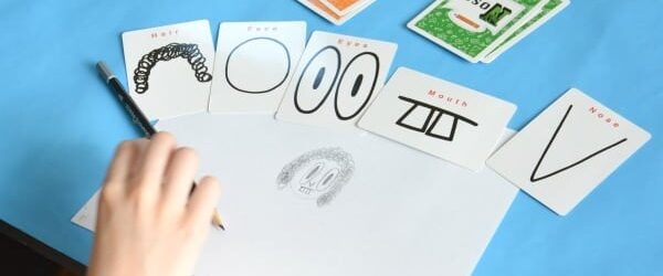Pick and Draw Drawing Game for Kids