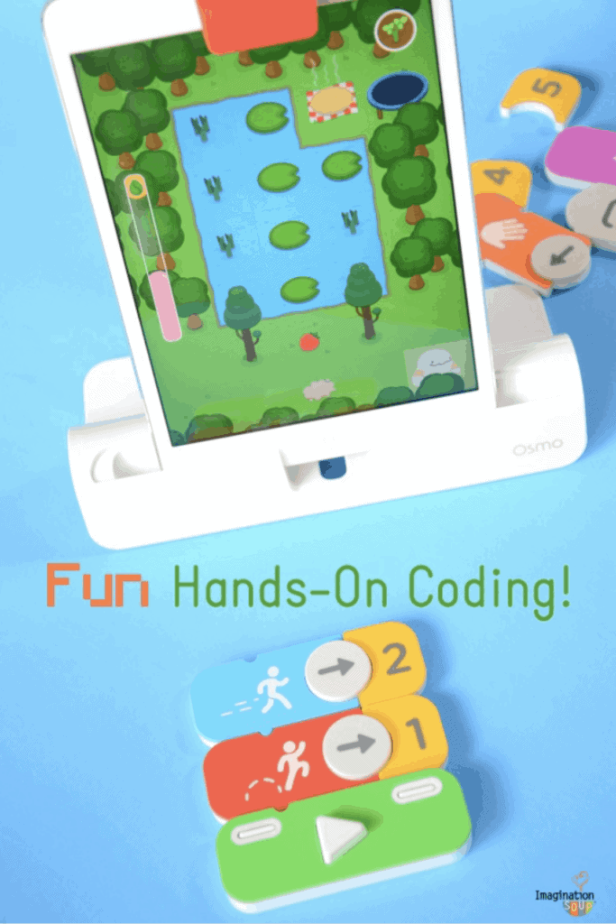 Osmo Coding makes learning programming fun and easy