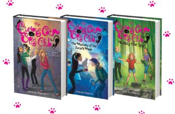 The Curious Cat Spy Club series
