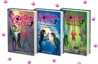 The Curious Cat Spy Club series