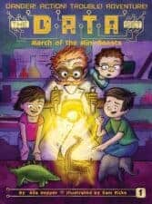 The D.A.T.A. Set- March of the Mini Beasts good books for 3rd grade 8 year old readers