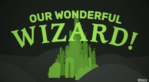 Wicked the Musical YouTube Kids