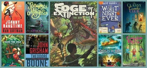 adventure and mystery middle grade chapter books 2016
