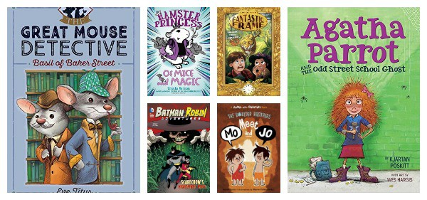 beginning chapter books for first and second grade