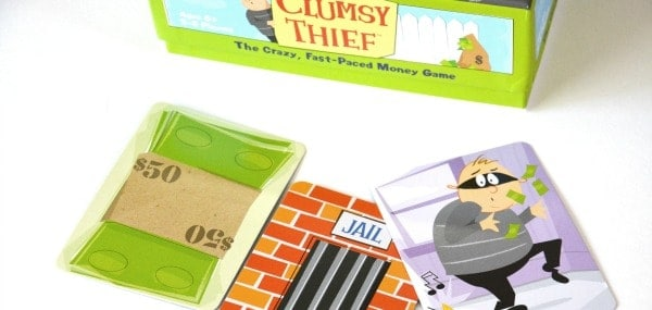 clumsy thief money addition card game