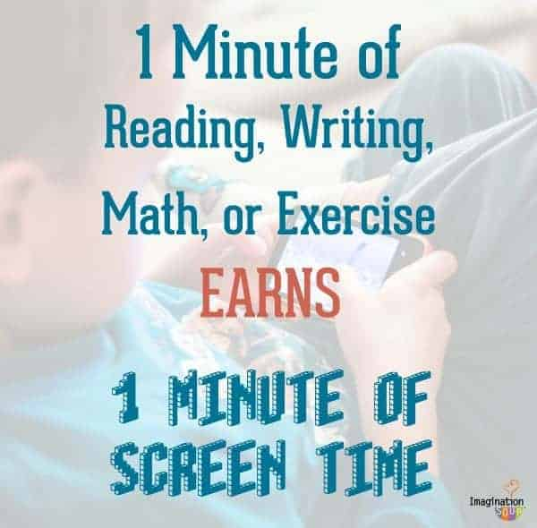 family screen time rules