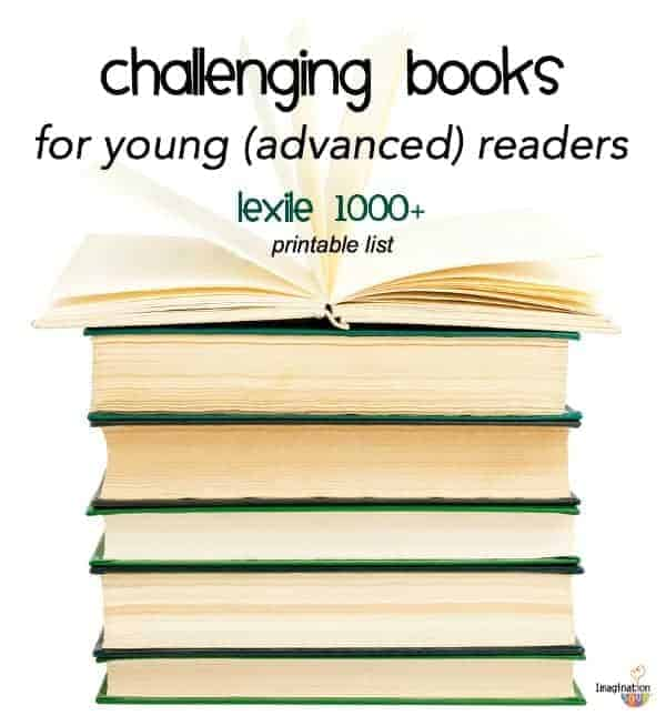 appropriate challenging books for advanced readers