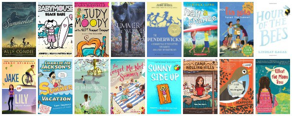 middle grade chapter books about summer