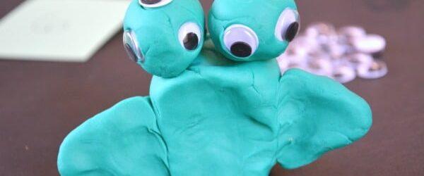 Monster Play Dough Math Activity