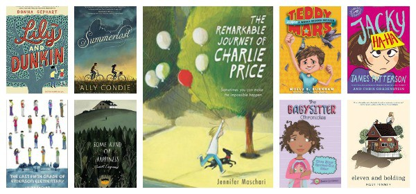 new middle grade realistic fiction 2016