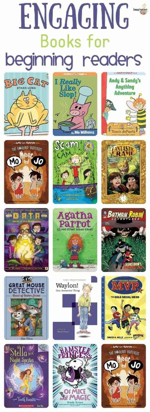 new recommendations for beginning readers (early readers and easy chapter books)